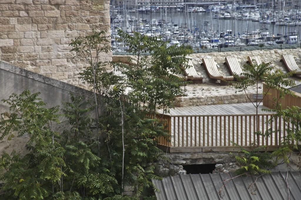 Jardin des migrations - Mucem © V Mure