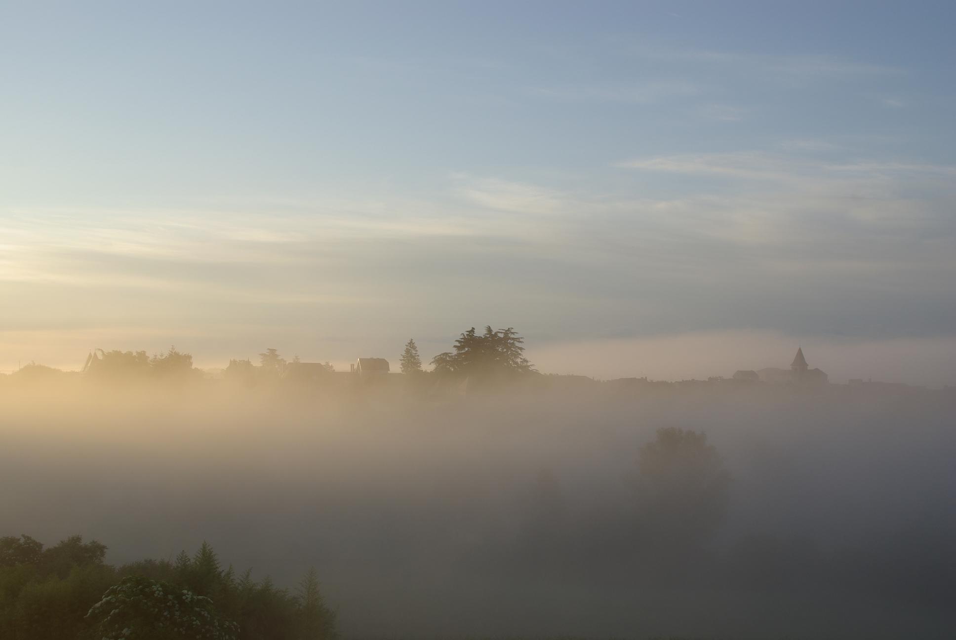 Le brouillard finit toujours par rendre le paysage qu'il a volé….S.Tesson