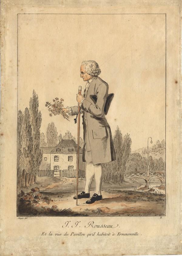 Jean-Jacques Rousseau botaniste…