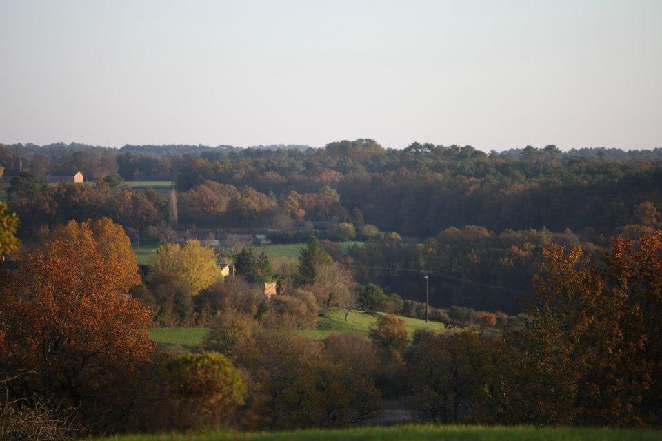 L'automne s'installe dans les jardins de la Bigotie