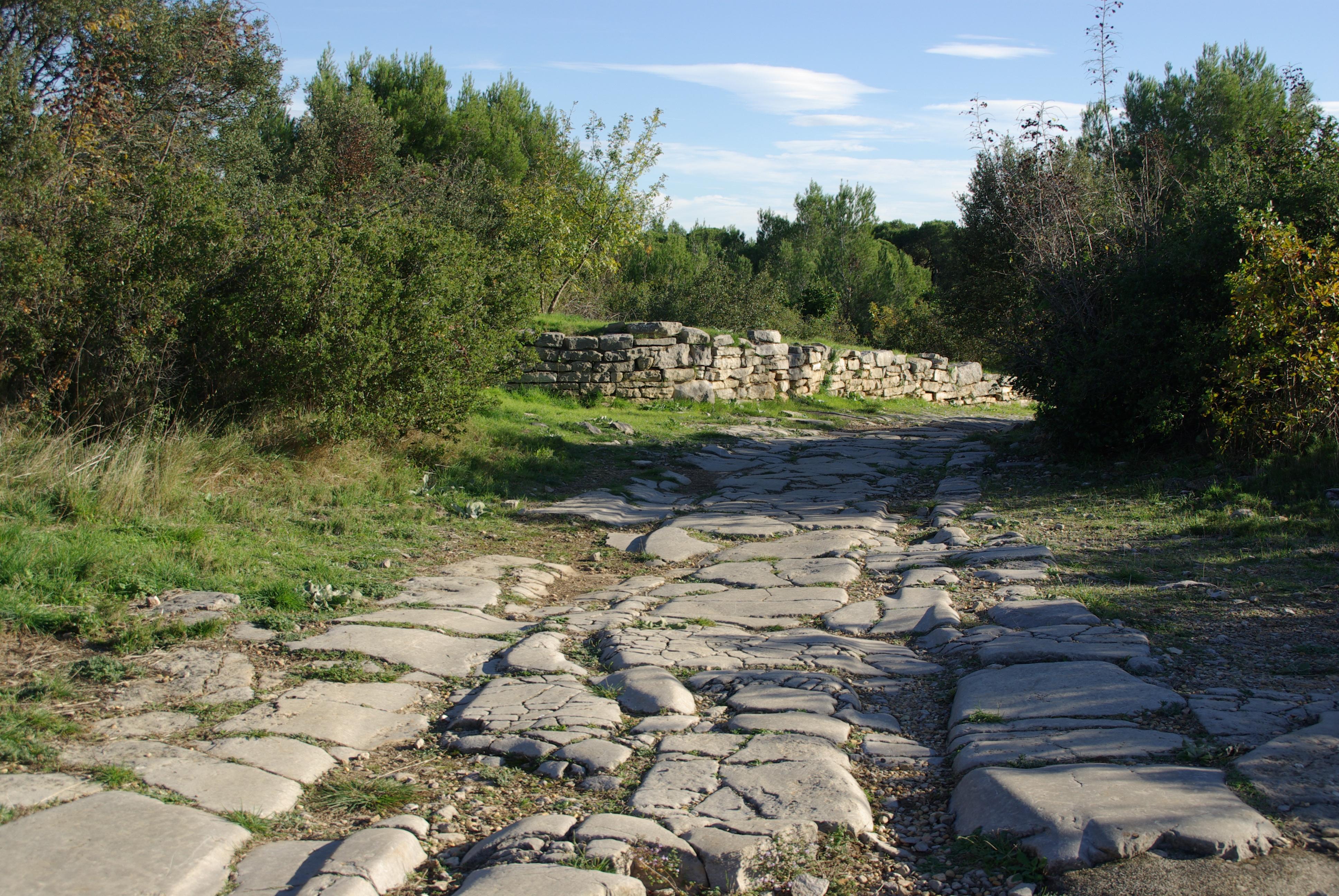 Ambrussum chemin