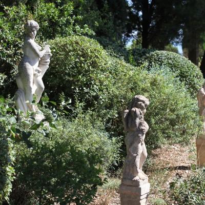 Palette végétale – Terrasse sud des jardins de l'Abbaye Saint André (30) – 2017