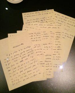 Sophie Calle, l'amour et les orties…