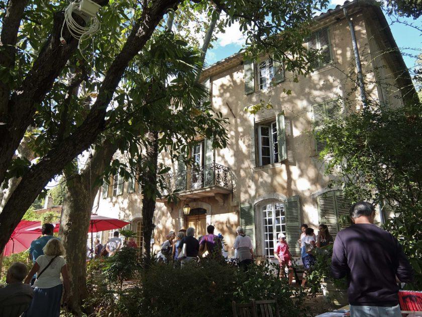 7ème salon du livre de jardin au domaine d'Orvès