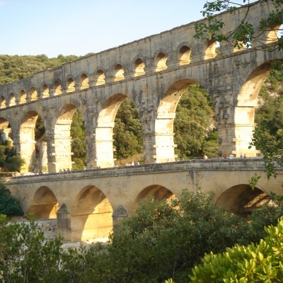Grand Site du Pont du Gard (30) 1996- 2002