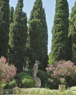 A l'ombre des jardins de l'Abbaye du Fort Saint André
